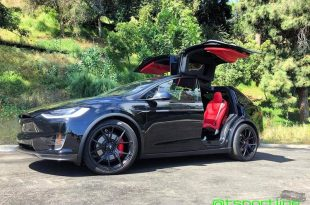 T Sportline Tesla Model X Bentley Interieur 18 310x205 Mega edel   T Sportline Tesla Model X mit Bentley Interieur