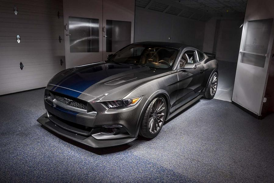 Vollcarbon Shelby Mustang GT350R SpeedKore Tuning 10 Vollcarbon Shelby Mustang GT350R vom Tuner SpeedKore