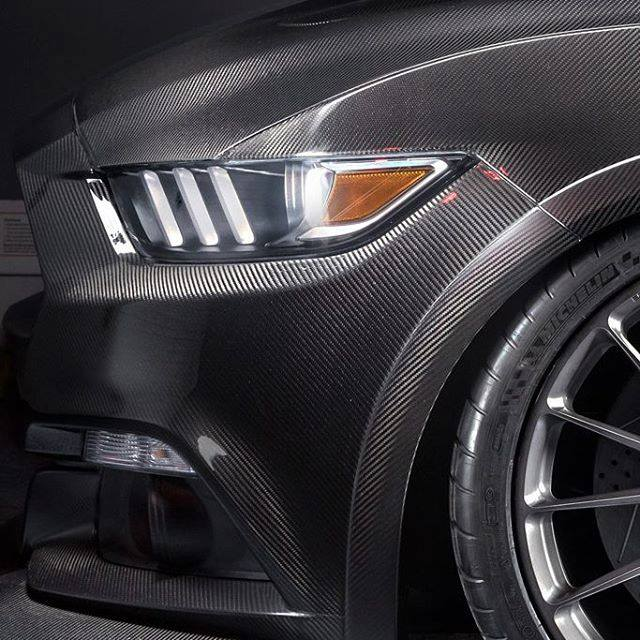 Vollcarbon Shelby Mustang GT350R SpeedKore Tuning 5 Vollcarbon Shelby Mustang GT350R vom Tuner SpeedKore