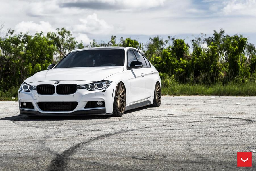 Vossen Wheels Vfs 2 Rims On The Bmw F30 Sedan