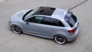 Widebody Audi RS3 8P Tuning Vossen VWS1 3 190x107 Perfekt   Audi RS3 Widebody auf Vossen Wheels by cartech