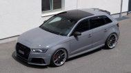 Widebody Audi RS3 8P Tuning Vossen VWS1 5 190x107 Perfekt   Audi RS3 Widebody auf Vossen Wheels by cartech