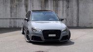 Widebody Audi RS3 8P Tuning Vossen VWS1 8 190x107 Perfekt   Audi RS3 Widebody auf Vossen Wheels by cartech