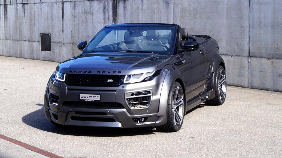 hamann widebody range rover evoque cabrio auf 22 z llern magazin. Black Bedroom Furniture Sets. Home Design Ideas