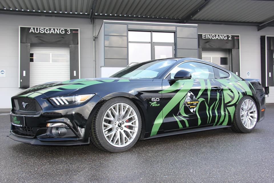 Wolf Racing Ford Mustang GT 2.3 Tuning 3 1 21 Zöller & 445 PS im Wolf Racing Ford Mustang GT 2.3