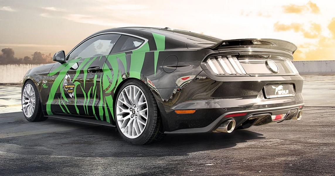 Wolf Racing Ford Mustang GT 2.3 Tuning 6 21 Zöller & 445 PS im Wolf Racing Ford Mustang GT 2.3