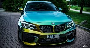 Z Performance ZP2.1 GECKO BMW F87 M2 Coupe Folierung Tuning 4 310x165 Z Performance ZP2.1 Alu's am GECKO BMW F87 M2 Coupe