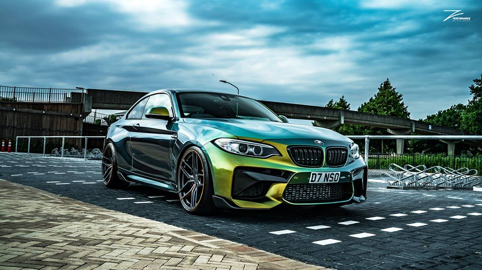 Z Performance ZP2.1 GECKO BMW F87 M2 Tuning 2 Z Performance ZP2.1 Alu's am GECKO BMW F87 M2 Coupe