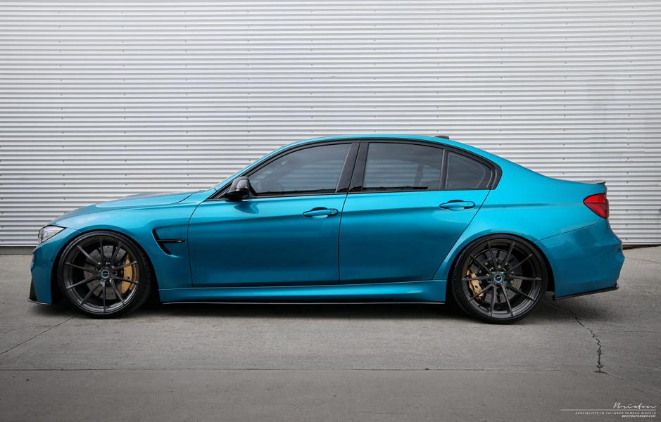atlantis blue m3 f80 bmw brixton forged wr3 Tuning 2017 13 Atlantis Blau & Brixton Forged Wheels am BMW M3 F80