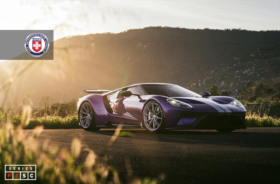 2019 Ford GT HRE P104SC Tuning 1 Weltpremiere   2017 Ford GT auf 21 Zoll HRE S107 Felgen