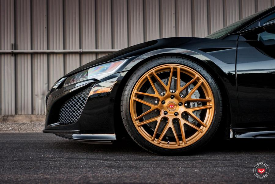 Acura NSX 21 Zoll Vossen Forged VPS 314 Tuning 3 Sportlicher Acura NSX auf 21 Zoll Vossen Forged VPS 314