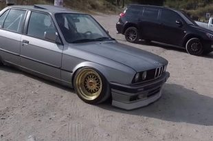 BMW E30 Turbo Test 310x205 Video: The Smoking Tire   BMW E30 er mit 560PS am Rad