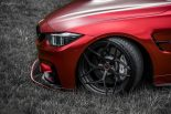 BMW F80 M3 Satin Red Brixton PF5 Felgen Tuning 1 155x103 Neu   BMW F80 M3 in Satin Red nun auf Brixton PF5 Felgen
