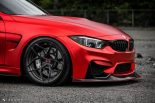 BMW F80 M3 Satin Red Brixton PF5 Felgen Tuning 10 155x103 Neu   BMW F80 M3 in Satin Red nun auf Brixton PF5 Felgen