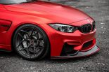 BMW F80 M3 Satin Red Brixton PF5 Felgen Tuning 14 155x103 Neu   BMW F80 M3 in Satin Red nun auf Brixton PF5 Felgen