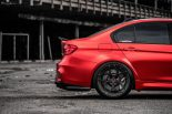 BMW F80 M3 Satin Red Brixton PF5 Felgen Tuning 15 155x103 Neu   BMW F80 M3 in Satin Red nun auf Brixton PF5 Felgen