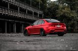 BMW F80 M3 Satin Red Brixton PF5 Felgen Tuning 19 155x103 Neu   BMW F80 M3 in Satin Red nun auf Brixton PF5 Felgen