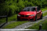 BMW F80 M3 Satin Red Brixton PF5 Felgen Tuning 21 155x103 Neu   BMW F80 M3 in Satin Red nun auf Brixton PF5 Felgen