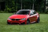 BMW F80 M3 Satin Red Brixton PF5 Felgen Tuning 22 155x103 Neu   BMW F80 M3 in Satin Red nun auf Brixton PF5 Felgen
