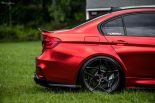BMW F80 M3 Satin Red Brixton PF5 Felgen Tuning 23 155x103 Neu   BMW F80 M3 in Satin Red nun auf Brixton PF5 Felgen