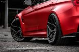 BMW F80 M3 Satin Red Brixton PF5 Felgen Tuning 24 155x103 Neu   BMW F80 M3 in Satin Red nun auf Brixton PF5 Felgen
