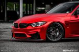 BMW F80 M3 Satin Red Brixton PF5 Felgen Tuning 3 155x103 Neu   BMW F80 M3 in Satin Red nun auf Brixton PF5 Felgen