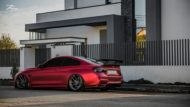 BMW M4 F82 Coupe Mattrot ZP2.1 Tuning 2 190x107 Traumhaft   BMW M4 F82 Coupe in Mattrot auf ZP.5 Alu's