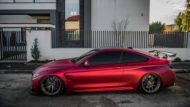 BMW M4 F82 Coupe Mattrot ZP2.1 Tuning 3 190x107 Traumhaft   BMW M4 F82 Coupe in Mattrot auf ZP.5 Alu's