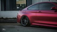 BMW M4 F82 Coupe Mattrot ZP2.1 Tuning 4 190x107 Traumhaft   BMW M4 F82 Coupe in Mattrot auf ZP.5 Alu's