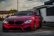 BMW M4 F82 Coupe Mattrot ZP2.1 Tuning 5 190x127 Traumhaft   BMW M4 F82 Coupe in Mattrot auf ZP.5 Alu's