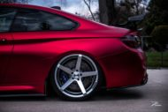 BMW M4 F82 ZP6.1 Z Performance Wheels Tuning Satin Red 1 190x127 Traumhaft   BMW M4 F82 Coupe in Mattrot auf ZP.5 Alu's