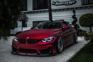 BMW M4 F82 ZP6.1 Z Performance Wheels Tuning Satin Red 2 190x127 Traumhaft   BMW M4 F82 Coupe in Mattrot auf ZP.5 Alu's