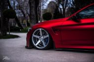 BMW M4 F82 ZP6.1 Z Performance Wheels Tuning Satin Red 3 190x127 Traumhaft   BMW M4 F82 Coupe in Mattrot auf ZP.5 Alu's