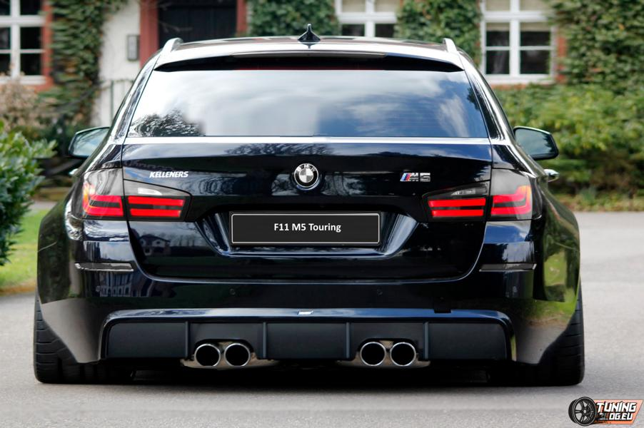 BMW M5 F11 Touring Widebody BMW M5 F11 Touring im Widebody Kleid by tuningblog