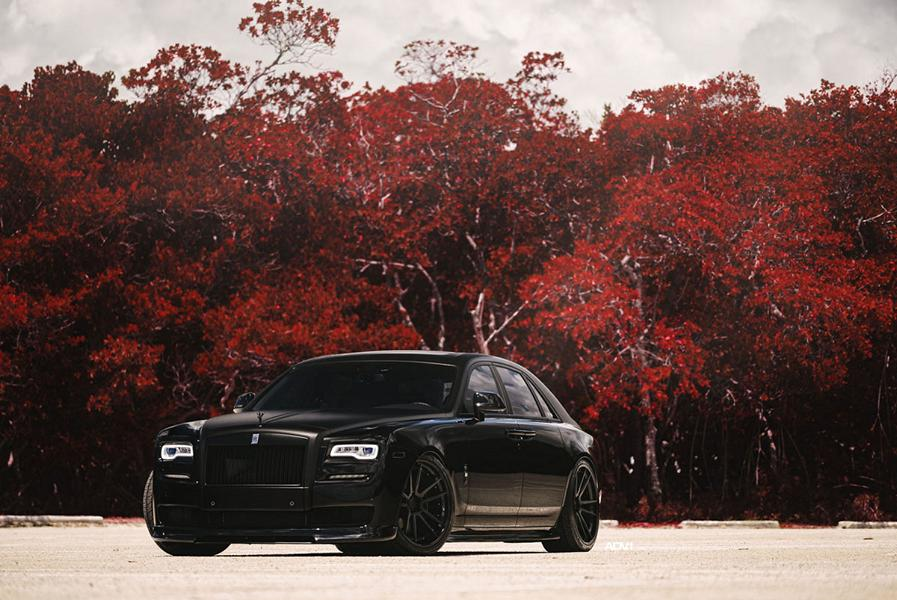 black rolls royce ghost adv5 2 felgen tuning 7. Black Bedroom Furniture Sets. Home Design Ideas