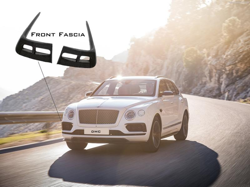 Carbon Bodykit Chiptuning DMC Bentley Bentayga 2 Carbon Bodykit & 705 PS im DMC Bentley Bentayga