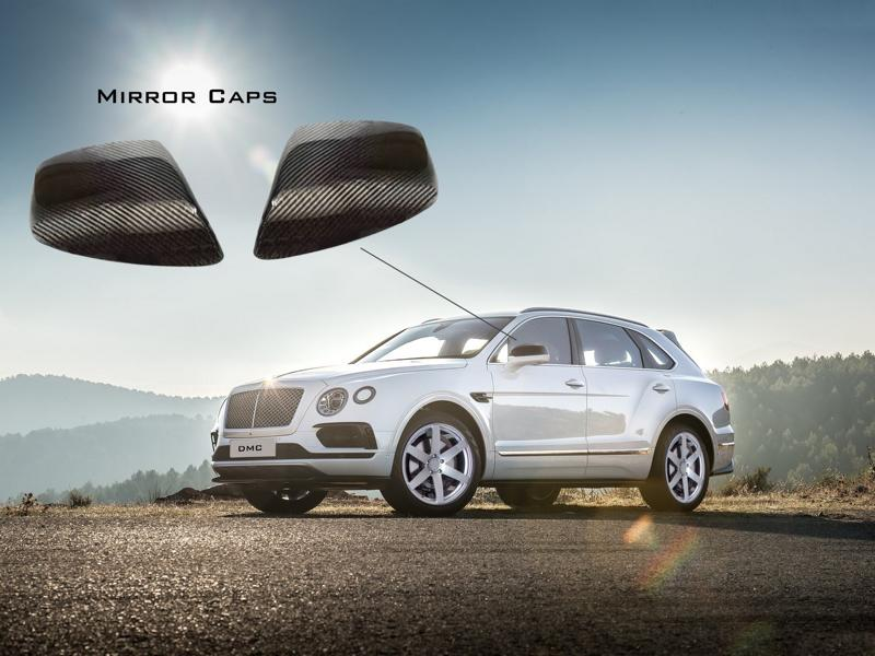 Carbon Bodykit Chiptuning DMC Bentley Bentayga 3 Carbon Bodykit & 705 PS im DMC Bentley Bentayga