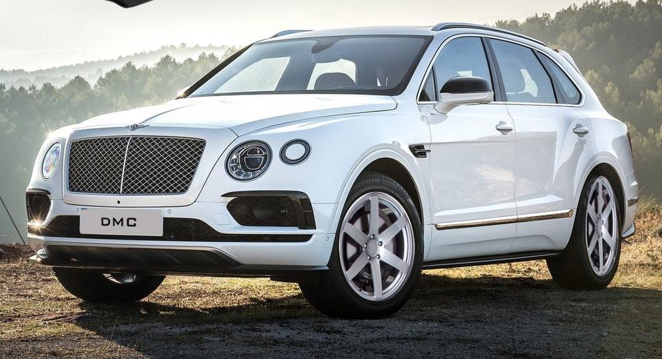 Carbon Bodykit Chiptuning DMC Bentley Bentayga 6 Carbon Bodykit & 705 PS im DMC Bentley Bentayga