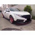 Honda Civic Type R Widebody Kit Tuning MK8 18 135x135 Spaciger Japaner Honda Civic Type R mit Widebody Kit