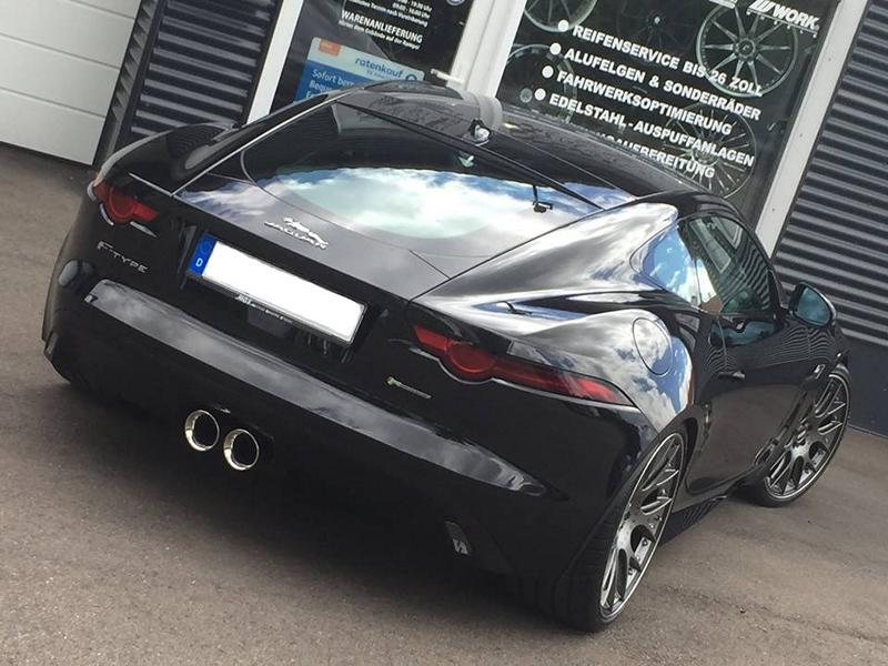 Jaguar F Type Facelift BBS KW Tuning 7 Perfekt   Jaguar F Type Facelift vom Tuner TVW Car Design