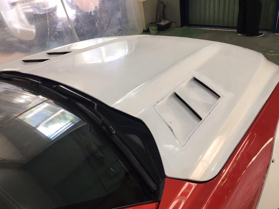 Liberty Walk Widebody Ford Mustang GT VI 1 In Arbeit   Liberty Walk Widebody Ford Mustang GT (VI)