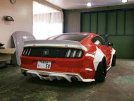 Liberty Walk Widebody Ford Mustang GT VI 7 190x143 In Arbeit   Liberty Walk Widebody Ford Mustang GT (VI)