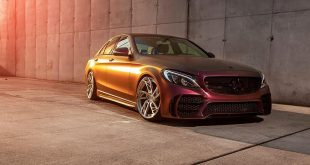 Mercedes C300 W205 SR66 Bodykit Tuning 2 310x165 Krasse Optik   Mercedes C300 W205 von BEST Performance