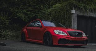 Mercedes S63 AMG W221 Mattrot Tuning 13 310x165 Fettes Teil   Carrotec Mercedes S63 AMG Widebody (W221)