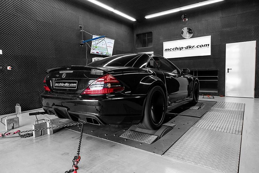 Mercedes SL65 AMG Black Series R230 Chiptuning 2 Monster   713 PS Mercedes SL65 AMG Black Series by Mcchip