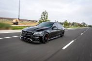 Mode Carbon Bodykit Zito Wheels ZF01 Tuning Mercedes C63 AMG 3 190x126 Mode Carbon Bodykit & Zito Wheels am Mercedes C63 AMG