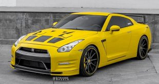 Nissan GT R Strasse R10 Tuning Yellow Wrap 2 310x165 Strasse Wheels SM5R Felgen am Porsche 911 Turbo (991)