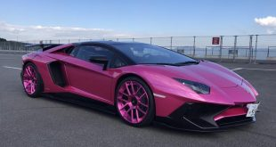 Pinker Lamborghini Aventador SV Forgiato S213 Tuning 1 310x165 In Arbeit   Liberty Walk Widebody Ford Mustang GT (VI)