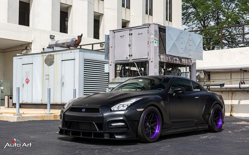 Prior Design Widebody Kit PD750 Nissan GT R Tuning 50 Prior Design Widebody Kit am Nissan GT R von Auto Art