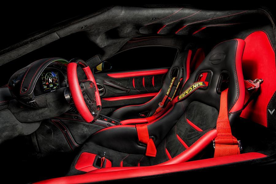 Sin Cars R1 mit Pagani Qualität Tuning Vilner 11 Tuning im Interieur   welche Veredelungsmöglichkeiten gibt es?